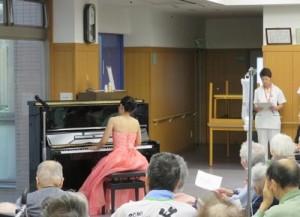 ピアノコンサートを行いました2