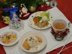 行事食・クリスマスメニューを提供しました1