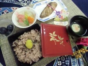 「敬老の日」行事食