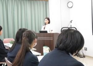 県立富士見高校1年生が見学に来られました5