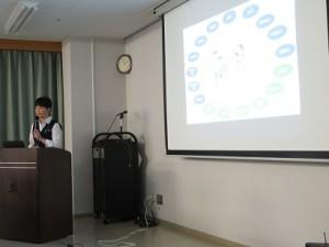 県立富士見高校1年生が見学に来られました7