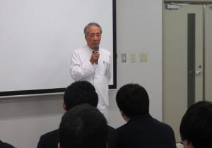県立富士見高校1年生が見学に来られました1