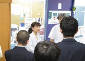 県立富士見高校1年生が見学に来られました8