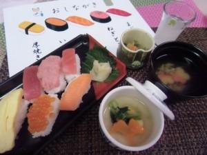 6階病棟行事食・寿司