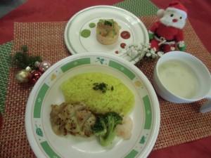 クリスマス行事食1
