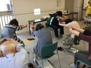 介護予防教室「転倒予防と筋力低下予防について」を実施しました2