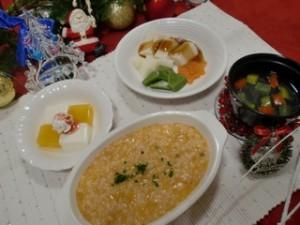 行事食・クリスマスメニューを提供しました2